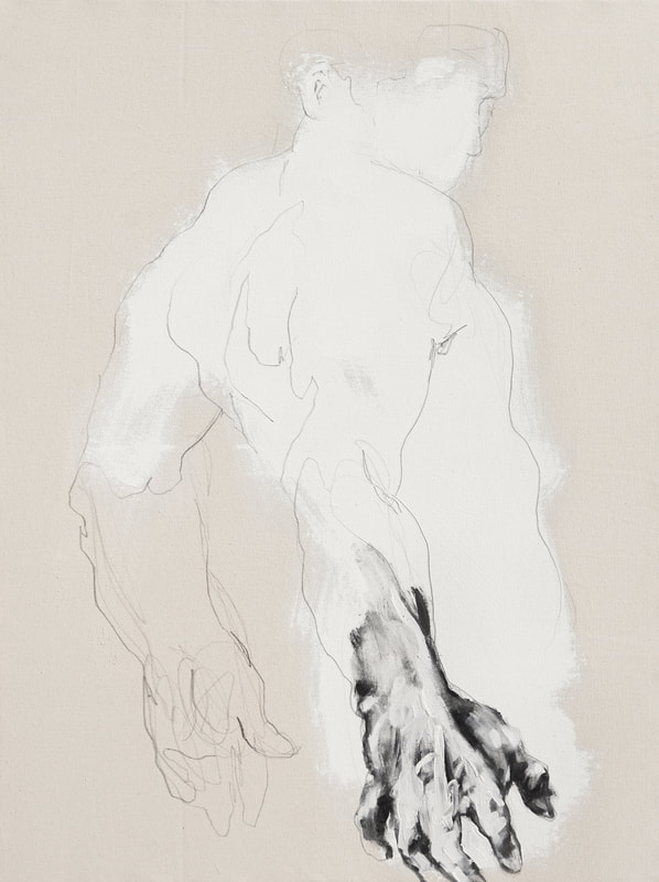"""White figure"" by Derek Overfield"